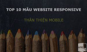 Top 10 mẫu website responsive