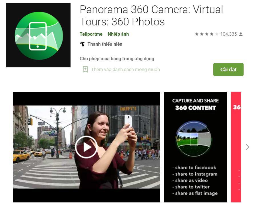Panorama 360 Camera: Ứng dụng chụp ảnh 360 độ hàng - Virtual Tours chuyên nghiệp